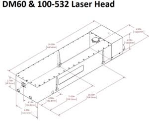 DM-532 ヘッド外形寸法